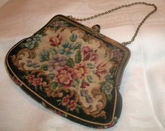 Sale! Petit Point Purse