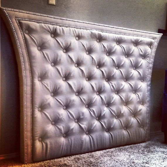 Items Similar To Custom Queen Tufted Headboard With Linen
