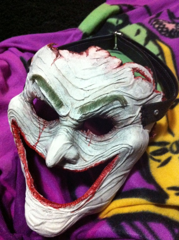 Cosplay Skinned Joker Face Mask. From the DC Comics Death by OZfx