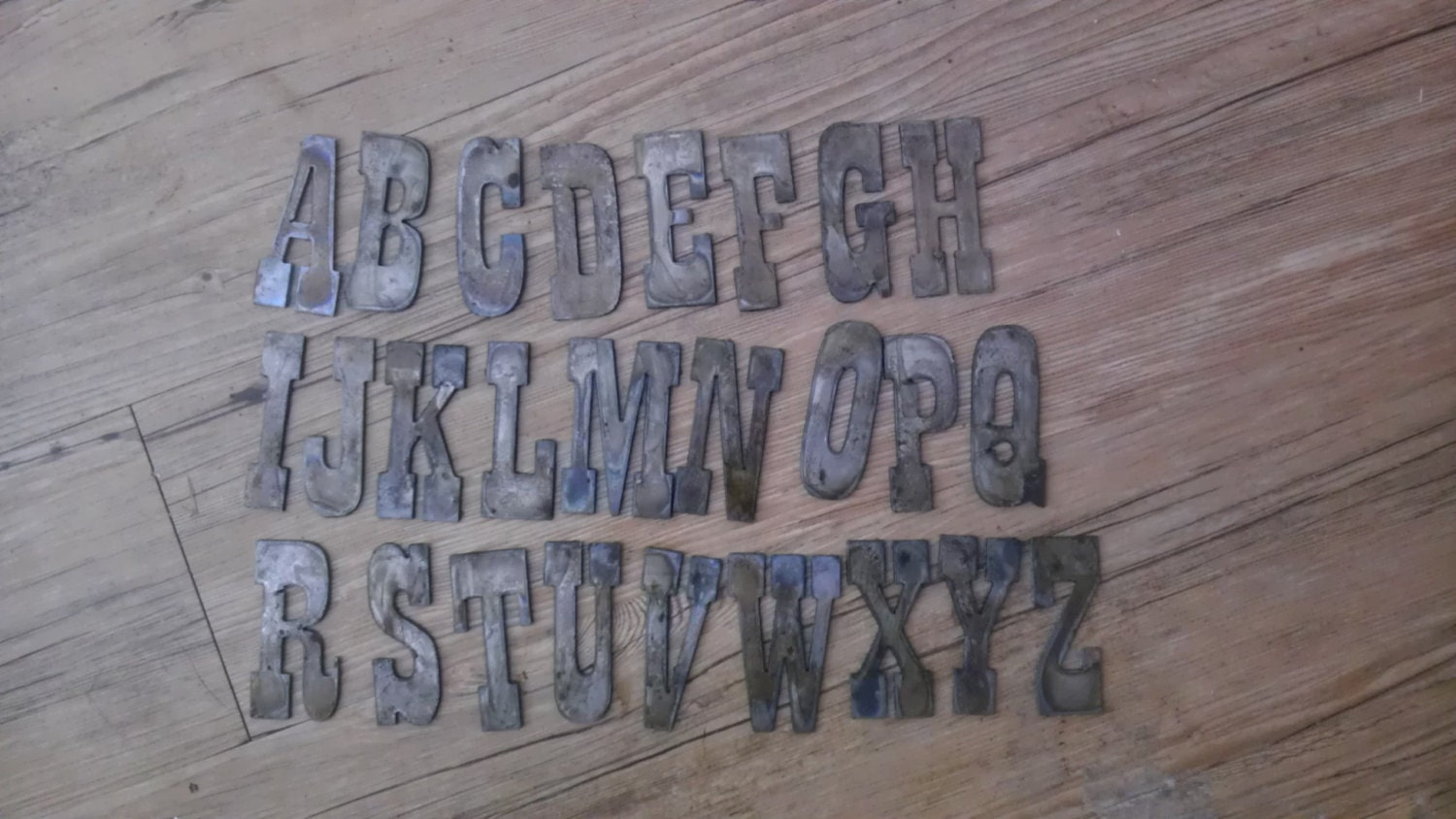 4 inch letters alphabet per letter or number rusty vintage western 4 inch letters alphabet per letter or number rusty vintage western style metal steel wall art ornament craft stencil diy sign amipublicfo Choice Image