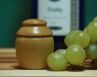 YellowHeart Wood Wine Bottle Stopper
