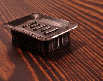 Steel Industrial Soap Dish