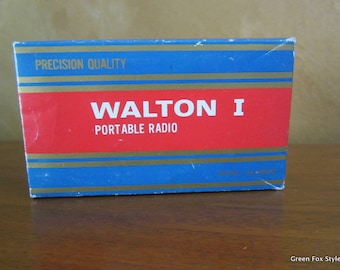 REDUCED Walton I Portable Radio