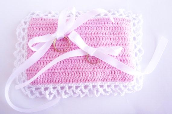 Crochet Pattern Ring Bearer Pillow Wedding Pillow Ring