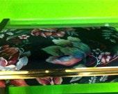 Vintage Floral Jewelry Box