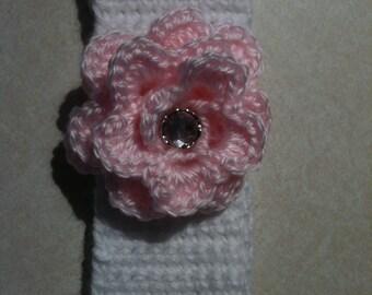 baby crocheted ear warmer