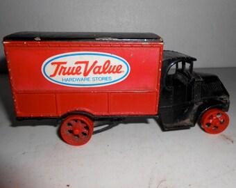 True Value truck bank
