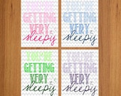 You're Getting Very Sleepy - Ombre 8x10 Print