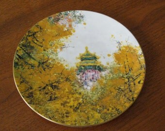 Collectible 1977 Royal Doulton Imperial Palace Plate Limited Edition