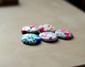 Floral Material Badges