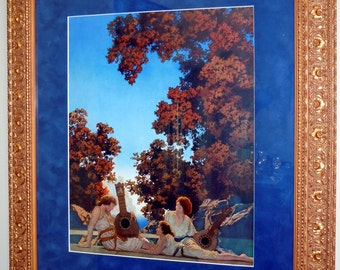 Maxfield Parrish Original large 1924 INTERLUDE Art Print