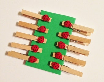 Small Decorative Clothespins