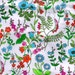 Liberty Tana Lawn fabric Lola Weisselberg- 5x10'' Scrap - Green,Blue,Orange,Pink