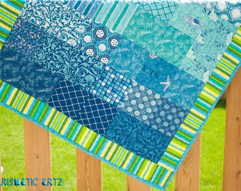Moda- Seascapes Baby Quilt