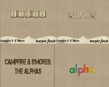 Campfire & S'Mores: The Alphas