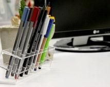 Acrylic Pen Holder Pencil case