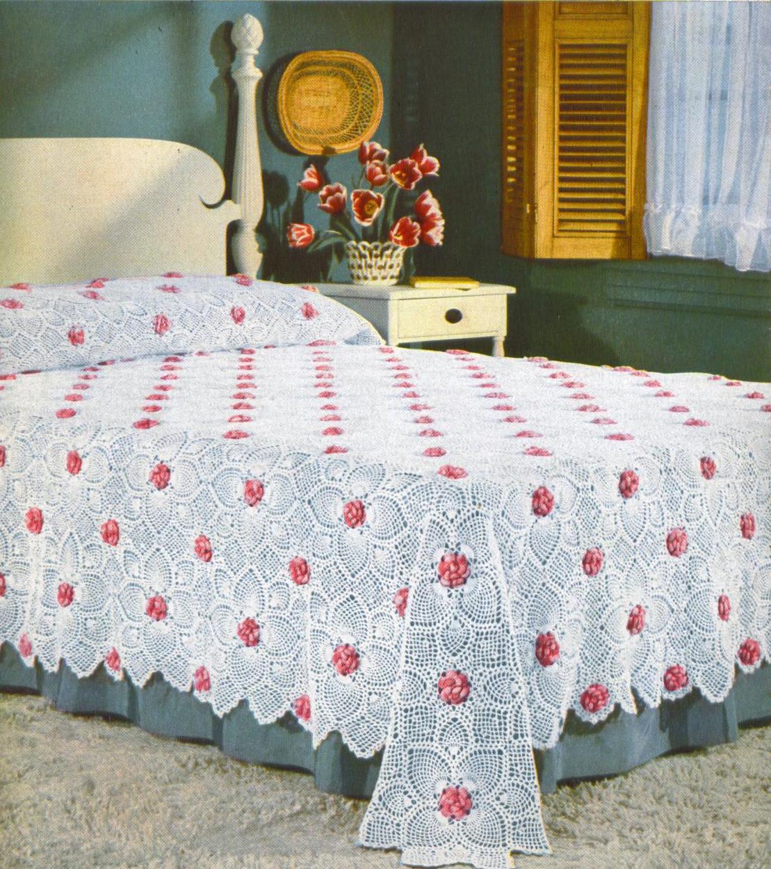 Crochet Pineapple Bedspread