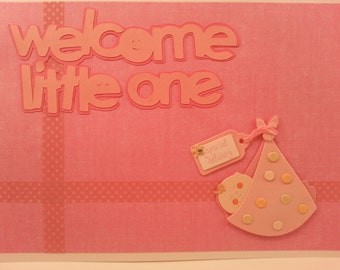 Card for New Baby Girl