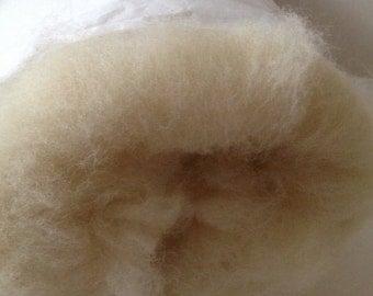 100% wool sheep Batting  Roving  Stuffing Needle Felting 1 lb