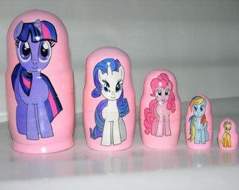 My Little Pony nesting doll