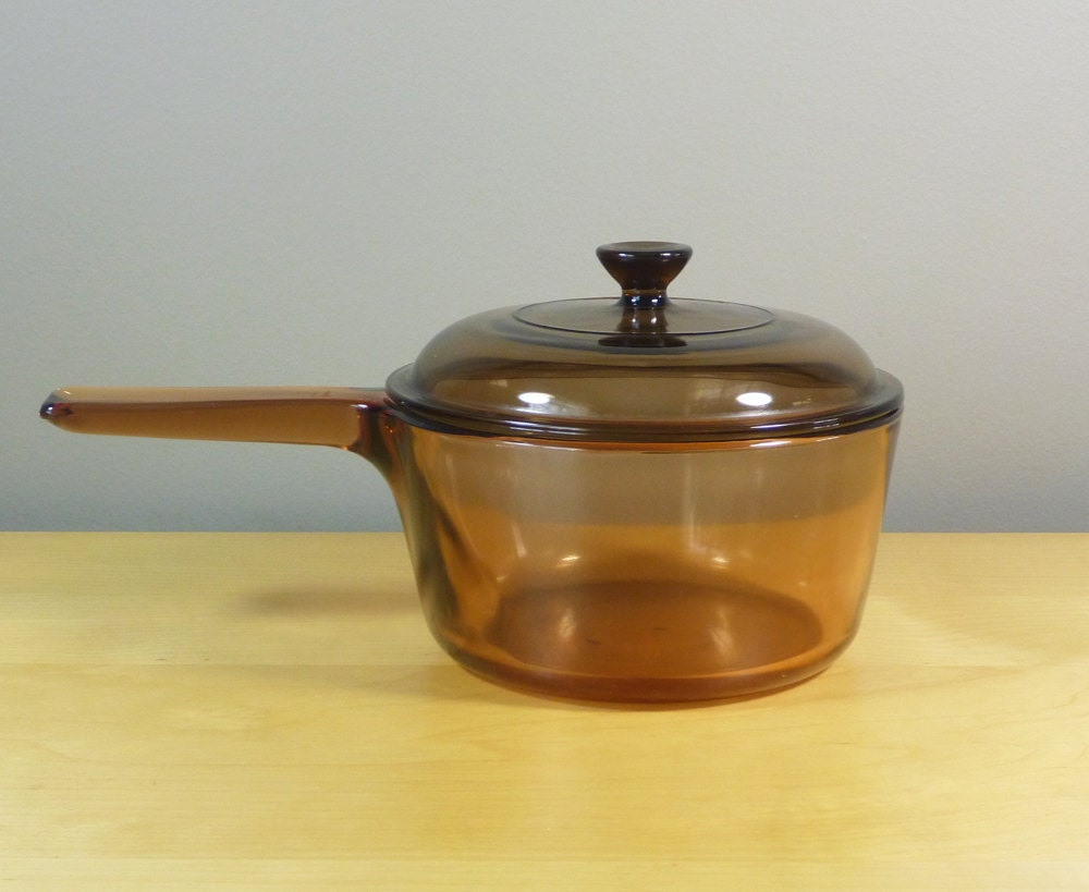 Corning Visions Cookware In Amber 1 5 L Covered By
