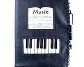 Composition Book Cover PIANO