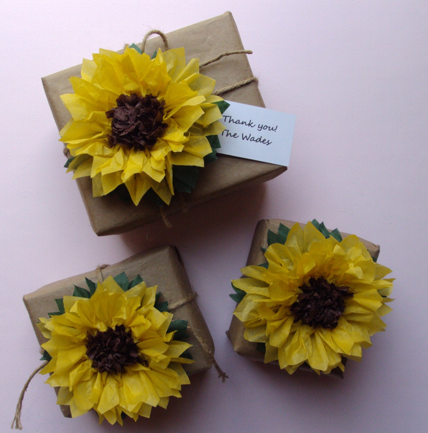 Sunflower Wedding Favor Ideas: Unavailable Listing On Etsy