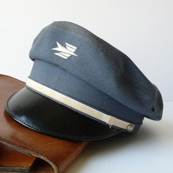 the famous vintage french postman 39 s hat authentic la. Black Bedroom Furniture Sets. Home Design Ideas