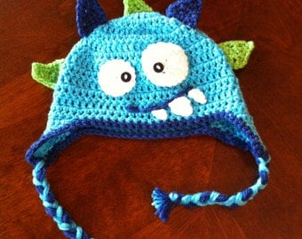 Monster baby hat Toddler