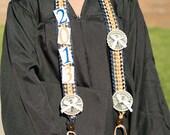 Graduation Money Lei, Ribbon Lei, Braided Stole, Double Braid Ribbon Lei with Money, Graduation Necklace, Birthdays
