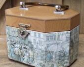 Vintage Wood Purse