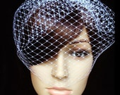 Wedding Veil, Bridal Veil, Birdcage Veil, Short Veil, Blusher Veil