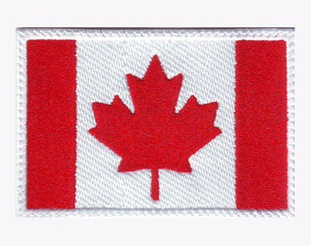 Canada Flag Embroidered Patch
