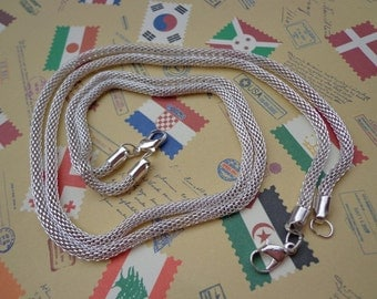 SALE--20pcs of our Silver Plated/ Snake Chain Necklaces/Jewelry supply/17 inch