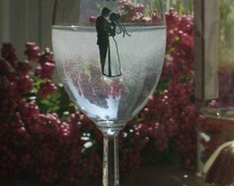 30% OFF** SALE*** I Do Wine Glasses