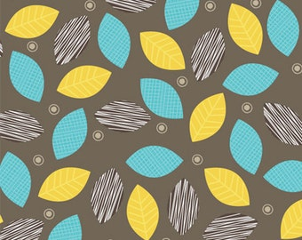 Safari leaves print by Anthology Fabrics