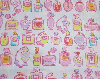 "18"" x 18"" Lilly Pulitzer Fabric  Resort White Spritz"