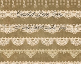 Crochet Lace Ecru
