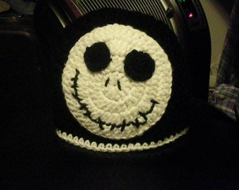 Jack Beanie. Handmade and comes in sizes newborn to adult.