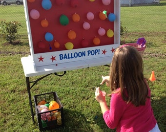 Dart Balloon Pop Carnival Game for Birthday, Church, VBS or School Party
