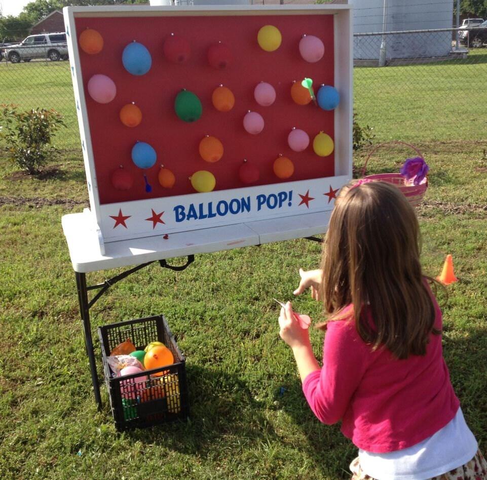 Dart Balloon Pop Carnival Game For Birthday Church VBS Or
