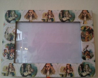 Alice in Wonderland Photo Frame