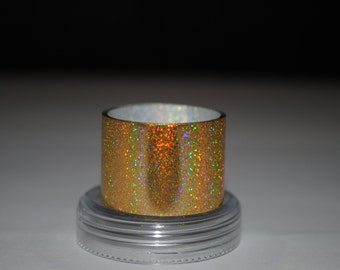 Sale! 3 meters Gold Crumb Holography Metallized foil film coating for nails