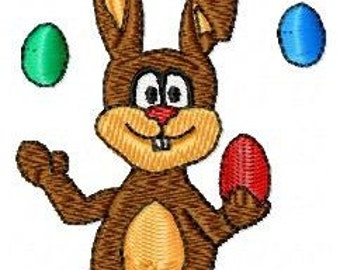 Embroidery pattern - easter bunny