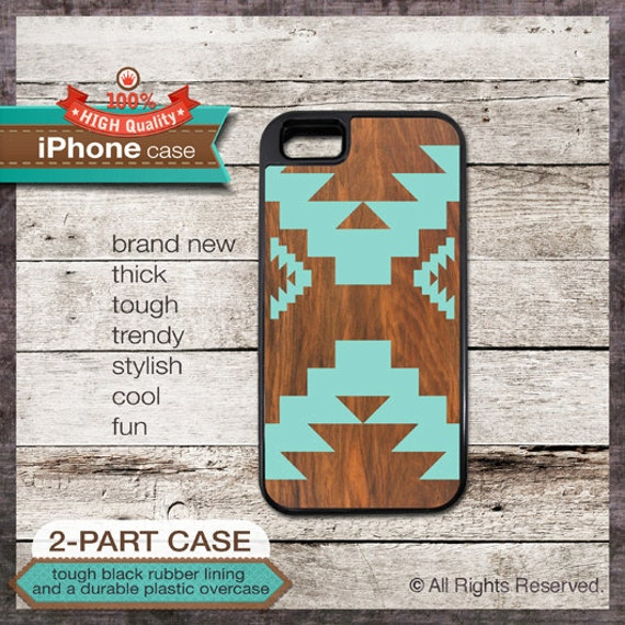 iPhone 6, 6+, 5 5S, 5C, 4 4S, Samsung Galaxy S3, S4 - Geometric Tribal Modern - Design Cover 92