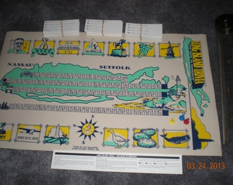 New Vintage Long Island Trivia-The Race to Montauk Game