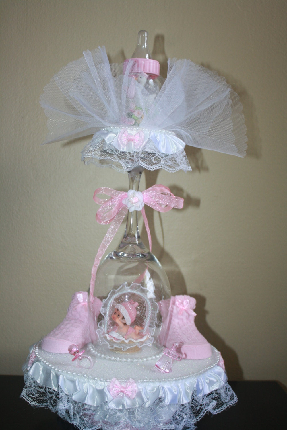 Babyshower centerpiece by maylin on etsy