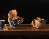 Teacups in the FT Limited Edition Giclée Print