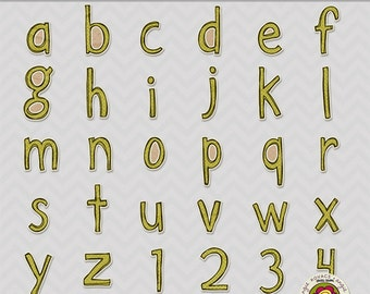 Playing Our Song Digital Alphabet Set