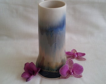 Large Hand Thrown Vase Signed
